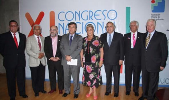 Alcaldesa Virginia Reginato destacó realización de XI Congreso Nacional de Municipalidades en Viña del Mar