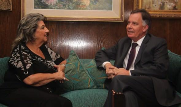 Intendente Raúl Celis se despidió de alcaldesa Virginia Reginato