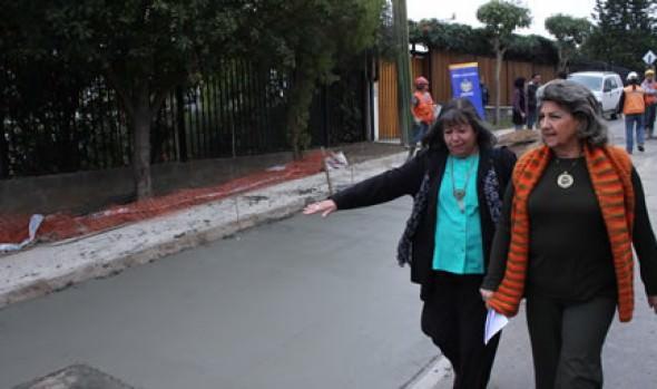 Municipio de Viña del Mar continúa  programa de recarpeteo vial en Gregorio Marañon
