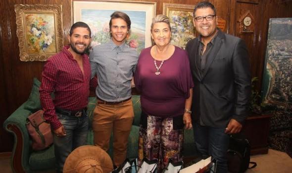 TV ecuatoriana visitó a alcaldesa Virginia Reginato