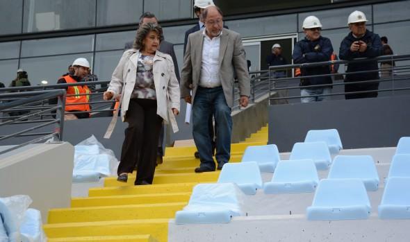 Municipio de Viña del Mar comenzó instalación de butacas de estadio Sausalito