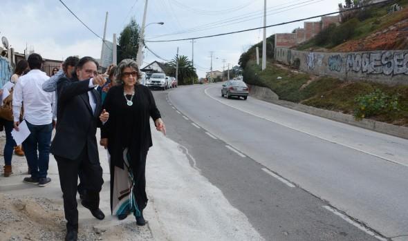 Municipio de Viña del Mar instalará barreras new jersey en Av.  Edmundo Eluchans