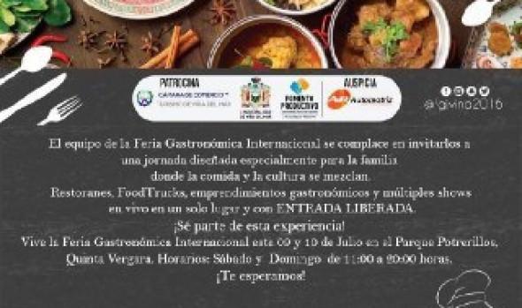 Municipio  de Viña del Mar invita a Feria Gastronómica Internacional