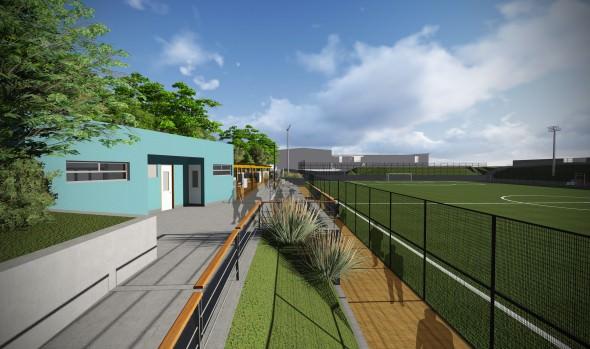Aprobación de recursos para 2ª  Etapa de Centro Deportivo de Gómez Carreño fue valorado por alcaldesa Virginia Reginato