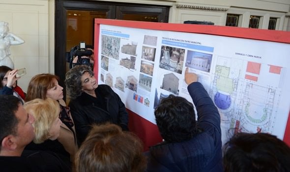 Alcaldesa Virginia Reginato: El turno del Teatro Municipal