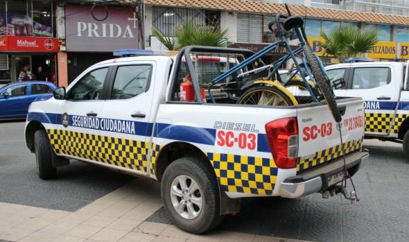 Municipio de Viña del Mar  y Gobernación realizaron operativo integral de  fiscalización al comercio ilegal