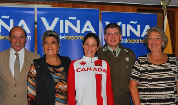 Alcaldesa Virginia Reginato invita a disfrutar de Triatlón Panamericano Junior en Viña del Mar