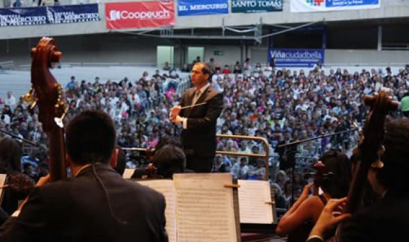 Alcaldesa Virginia Reginato destacó espectacular inicio de conciertos de Verano