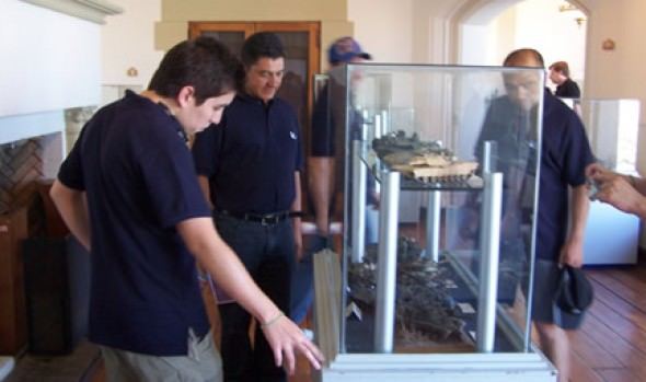 Alcaldesa Virginia Reginato destacó incremento de visitas al Castillo Wulff durante 2012