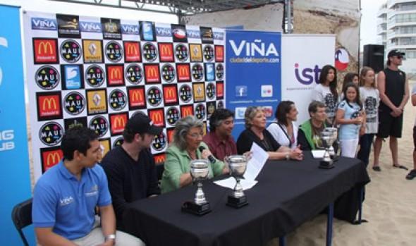 Alcaldesa Virginia Reginato dio inicio a 2ª fecha del Circuito Nacional de Surf
