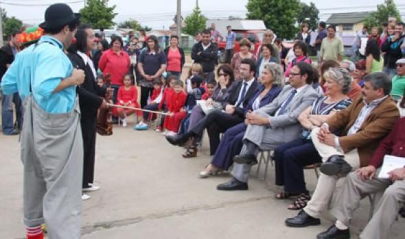 Alcaldesa Virginia Reginato destacó alianza entre Seremi MINVU y CNCA para apoyar iniciativas culturales