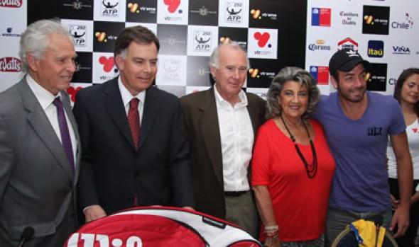 Alcaldesa Virginia Reginato calificó de  extraordinaria confirmación de Nadal para el ATP  de Viña del Mar