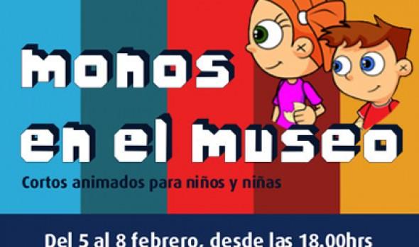 """Municipalidad de Viña del Mar invita a ver cortos animados """"Monos en el Museo"""""""