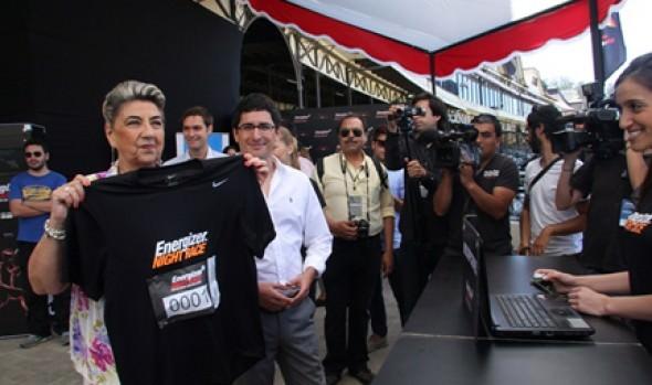 """Alcaldesa Virginia Reginato invitó a participar en la segunda versión de la corrida nocturna """"Energizer Night Race"""""""