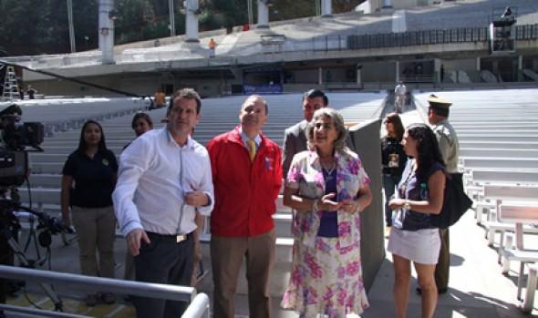 Alcaldesa Virginia Reginato garantizó la seguridad para todos los asistentes al Festival de Viña del Mar