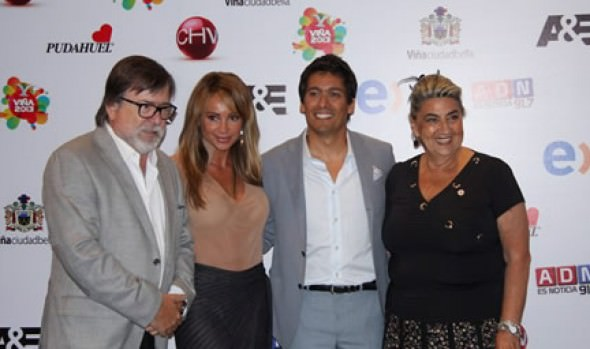 Alcaldesa Virginia Reginato y animadores dieron el vamos a 54° Festival Internacional de la Canción de Viña del Mar