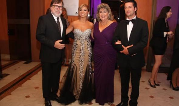Alcaldesa Virginia Reginato encabezó Cena de  Gala  del 54° Festival Internacional de la Canción de Viña del Mar