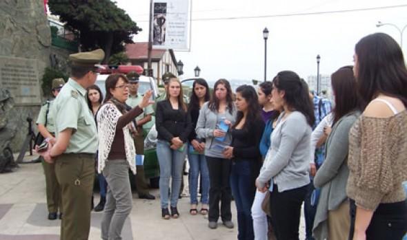 Municipalidad de  Viña del Mar capacitó a  carabineros en patrimonio cultural y natural