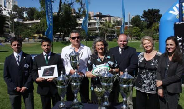 Realización de XIV campeonato de rugby juvenil Seven a side fue destacado por alcaldesa Virginia Reginato