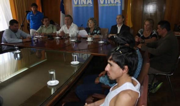 Antecedentes de Triatlón Panamericano ITU fueron dados a conocer por alcaldesa Virginia Reginato