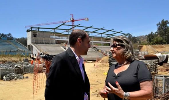 En Viña del Mar se hará sorteo de Copa América 2015, acto que fue destacado por alcaldesa Virginia Reginato