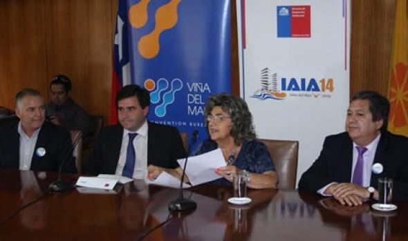 Realización de 34ª Conferencia Mundial de  Medioambinete en Viña del Mar fue destacado por alcaldesa Virginia Reginato