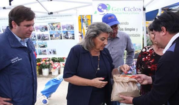Municipalidad de  Viña del Mar destaca proyecto de reciclaje de residuos orgánicos de feria del estero Marga Marga