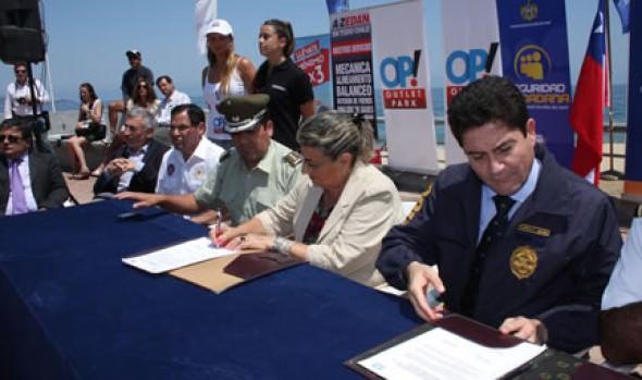 Programa Verano Seguro 2014 fue puesto en marcha por alcaldesa Virginia Reginato