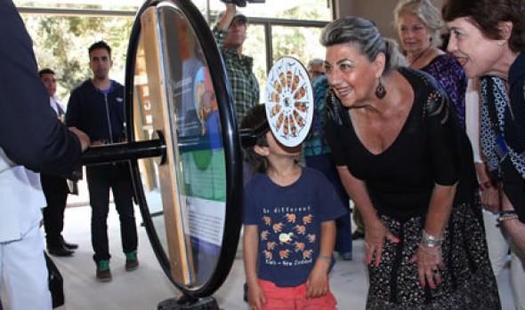 Sala de los sentidos y plazoleta Miró en   Artequin Viña fue inaugurada por alcaldesa Virginia Reginato