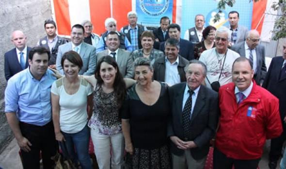 Radio Club Gaviotas recibió concesión de parte de alcaldesa Virginia Reginato y BBNN