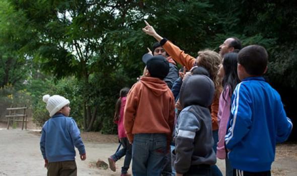 Niños de Reñaca Alto conocieron Jardín Botánico  y participaron en taller impulsado por Municipalidad de Viña  del Mar