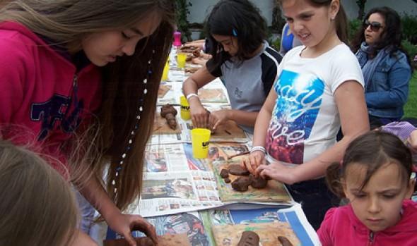 Con éxito comenzaron talleres de ceramistas realizados por Programa Viña del Mar