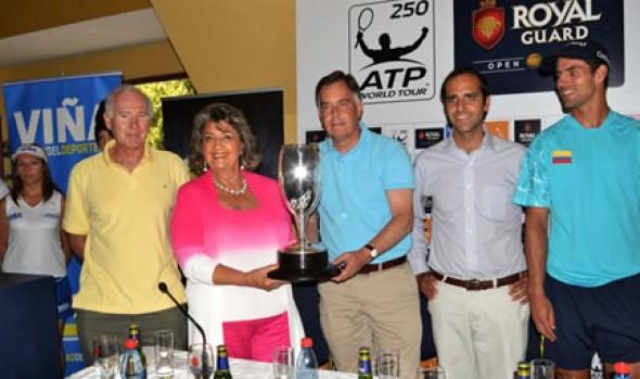 Sorteo de ATP Viña del Mar fue encabezado por alcaldesa Virginia Reginato