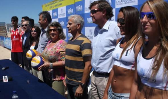 Viña del Mar se convierte en la capital Sudamericana del Vóleibol Playa