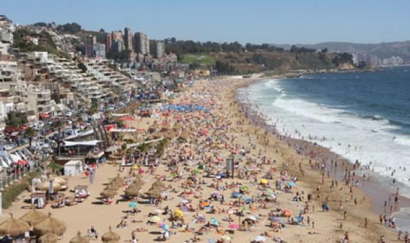 Viña del Mar obtiene nuevo reconocimiento a su belleza, ubicándose entre los top ten de Latinoamérica