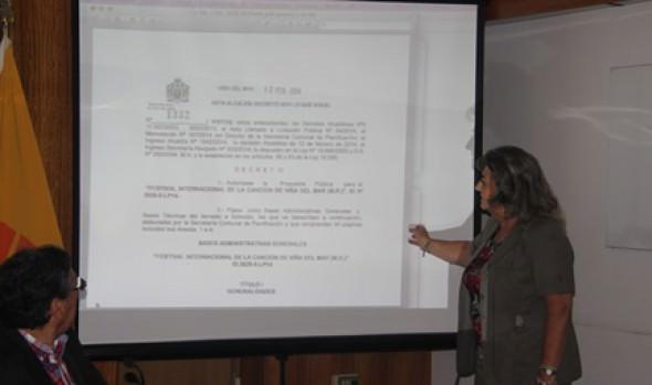 Municipio dio inicio a proceso de licitación del Festival Internacional de la Canción de Viña del Mar