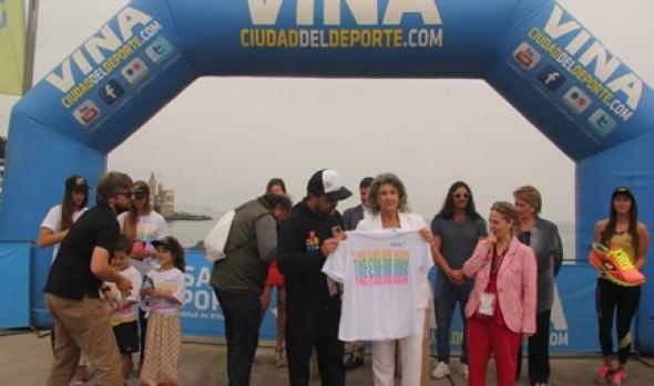 """Viña del Mar será centro de la entretención y el colorido con corrida """"Color Run 2014"""""""