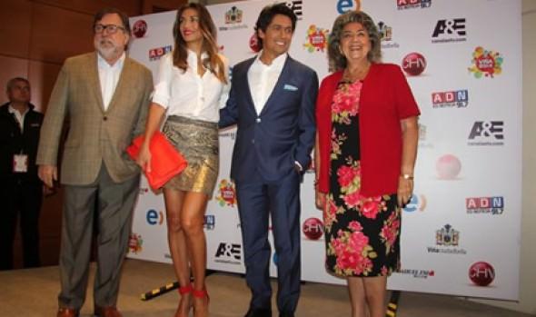 Alcaldesa y animadores dieron el vamos a 55ª Edición del Festival Internacional de la Canción