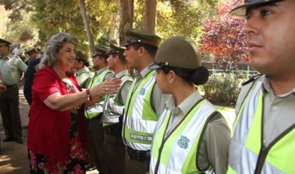 Comienzan los operativos de seguridad para el Festival en la Quinta Vergara