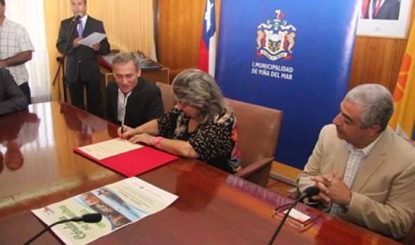 Viña del Mar y Villa Carlos Paz de Córdoba  firman Acuerdo de Colaboración Turística