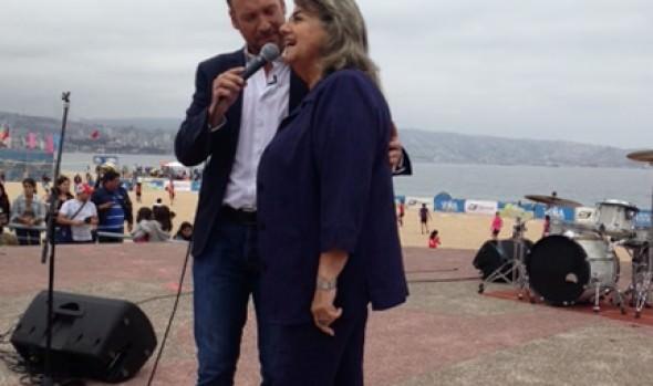 Alcaldesa presentó oficialmente a candidatas a reina del Festival de la Canción 2014