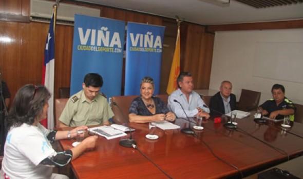 Un llamado a vivir la fiesta de los juegos suramericanos en Viña del Mar realizó alcaldesa  Virginia Reginato