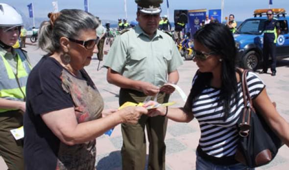Baja de victimización en Viña del Mar fue destacado por alcaldesa Virginia Reginato