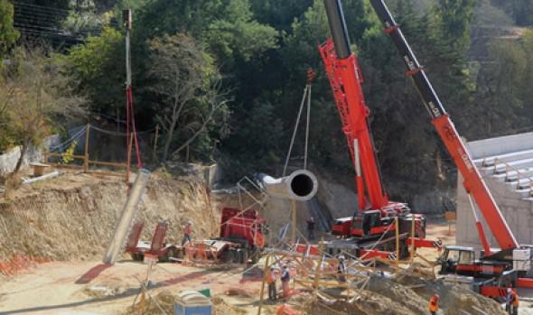 Municipio de Viña del Mar clarifica situación de caída de torre de iluminación en obras de Estadio Sausalito