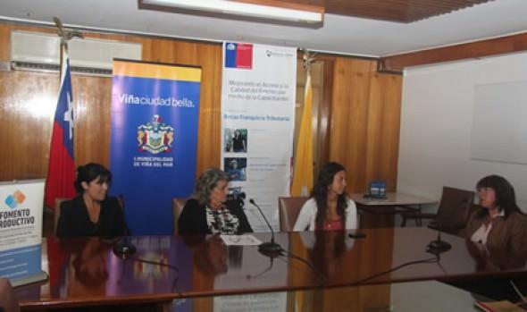 Municipio de Viña del Mar impulsa curso de capacitación para mejorar el emprendimiento y generación de empleo