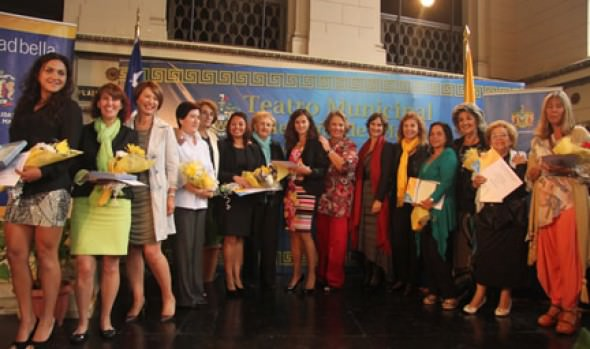 Municipio de Viña del Mar reconoce a nueve mujeres destacadas en distintas áreas
