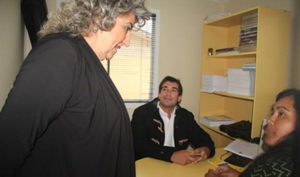 Atención de Bolsa de empleos anunció alcaldesa Virginia Reginato para de módulos de Municipio en tu barrio