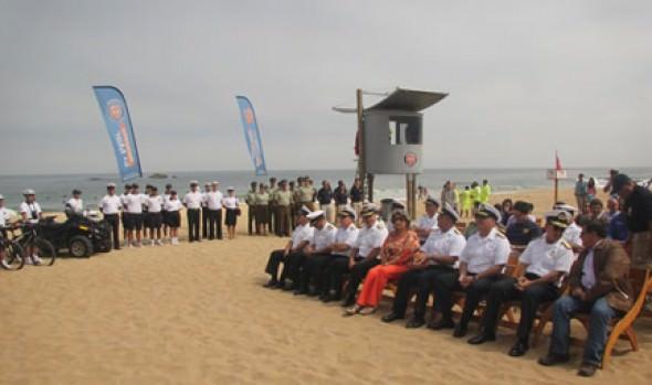 Nulo registro de víctimas en playas en Viña del Mar fue destacado por alcaldesa Virginia Reginato
