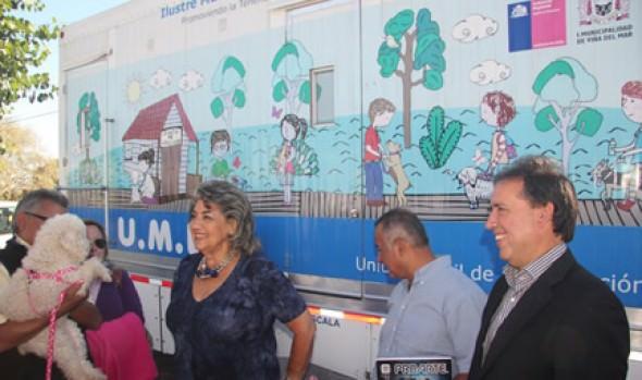 Más de 5000 perritas ha esterilizado la Municipalidad de Viña del Mar con pionero proyecto en clínica móvil