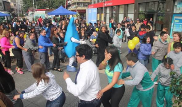 Con acto artístico y feria encabezado por alcaldesa Virginia Reginato se conmemoró el Día del Síndrome de Down en Viña del Mar